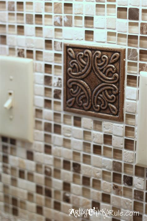 do it yourself backsplash kitchen kitchen tile backsplash do it yourself artsy chicks rule 174