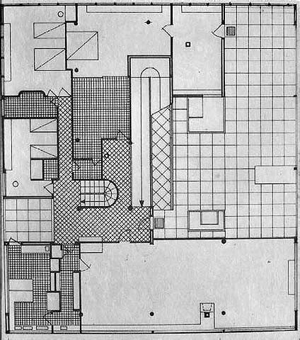 villa savoye floor plan dwg gallery of ad classics villa savoye le corbusier 20