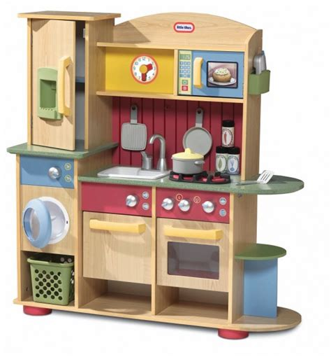 Tikes Childrens Kitchen by Tikes Cookin Creations Premium Wood Kitchen