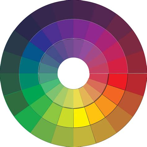 free printable color wheel template 10 image colorings net