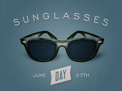 happy national sunglasses day 2016