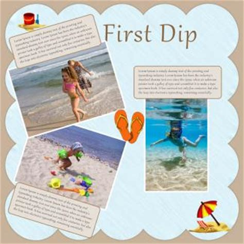 Scrapbook Theme Book Of Firsts by Scrapbook Ideas Lovetoknow