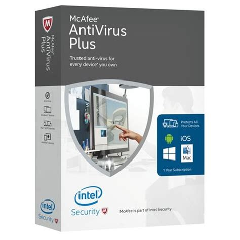 Antivirus Mcafee Original mcafee antivirus plus review chatter
