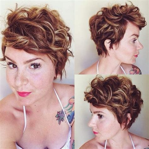 pin curls on pixie cut pin by jenifer hall on sassy hair pinterest curly