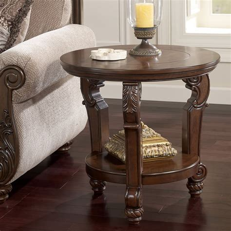 san martin bedroom set san martin round end table signature design by ashley