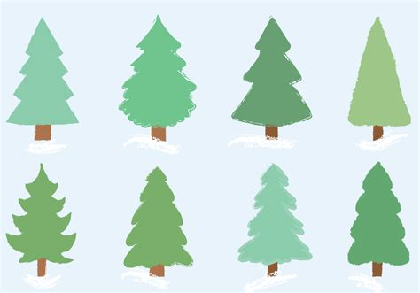free christmas tree vector download free vector art