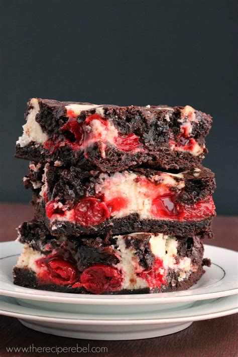 my ate a brownie cherry cheesecake brownies recipe