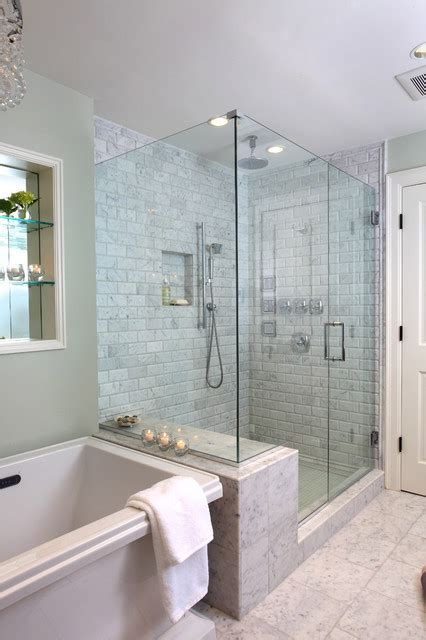 Bathroom Design Boston Master Bathroom Traditional Bathroom Boston By Justine Sterling Design