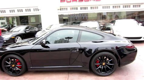 2007 porsche 911 4s for sale 2010 porsche 911 4s coupe black black