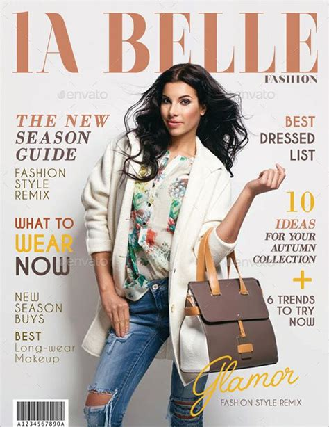 31 Magazine Cover Template Free Sle Exle Format Download Free Premium Templates Magazine Cover Template