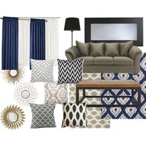 living room color scheme navy modern martha