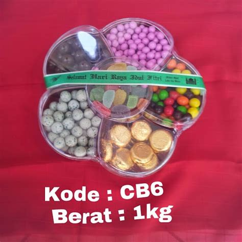Polka Coklat Lebaran Isi 3 parcel coklat isi kue dan permen jelly anak anak untuk