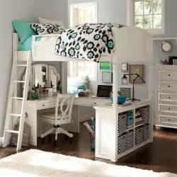size bunk beds with desk pottery barn size loft bed vanity desk chelsea white