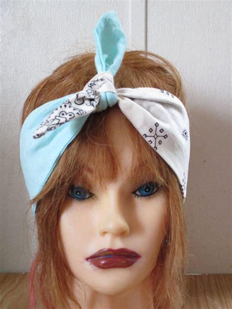 Headband Bow the 25 best bandana bow headbands ideas on