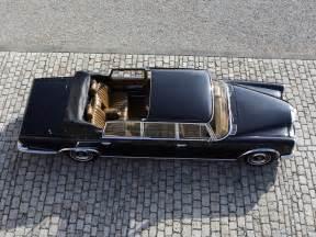 Mercedes 600 Landaulet Mercedes 600 Pullman Landaulet V100 Specs 1965