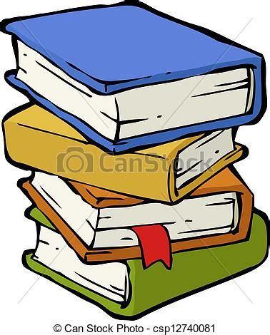 clipart libri vettore di libri pila a pila libri su uno sfondo