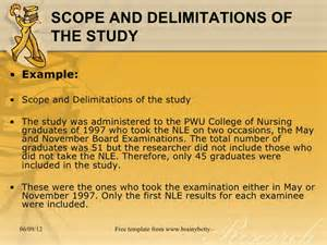 Sample Scope And Limitations In Thesis Scope And Limitation Thesis Sample Mfawriting915 Web Fc2 Com