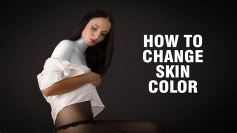 How To Change Hairstyle For In Photoshop Cs6 by How To Change Skin Color In Photoshop How To Change Skin