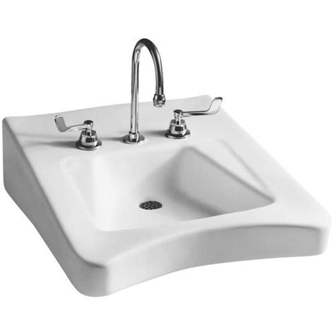 Ada Bathroom Sinks by Mansfield Wheelchair Ada Wall Mount Bathroom Sink 4