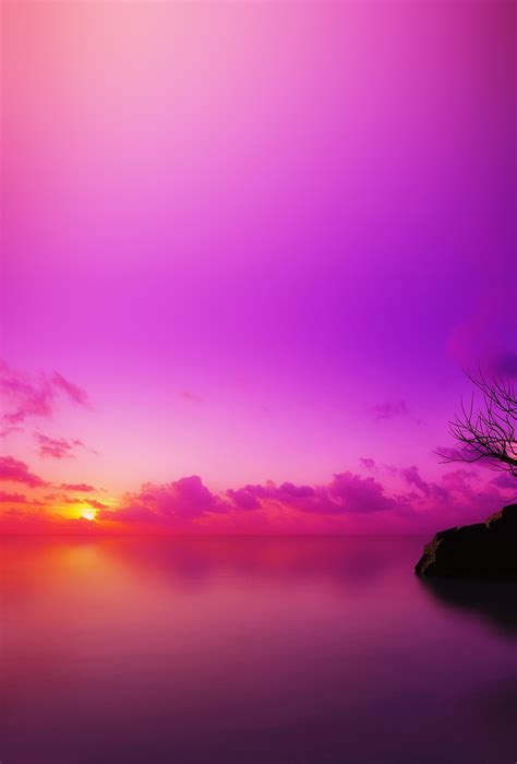 05 Set Sunset Pink Muda sky wallpapers
