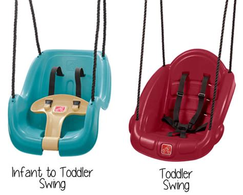 step 2 toddler swing alternatives to discontinued cer and swing for two