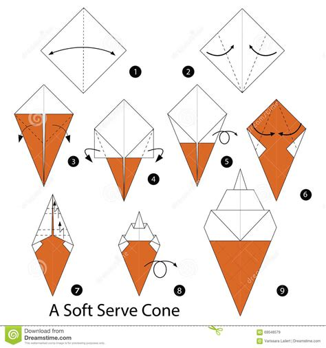 How To Make An Origami Cone - how to make an origami cone 28 images cone transform