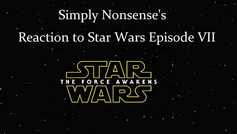 what happened between wars episodes vi and vii the definitive guide wars wavelength books simply nonsense s reaction to wars episode vii