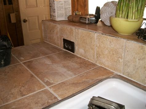 kitchen design with ceramic tile countertops my home