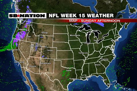 us weather map next week nfl weather forecast week 15 rainy weather for the west