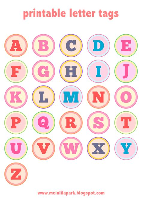 printable alphabet letters free download free printable alphabet letter tags diy buchstaben