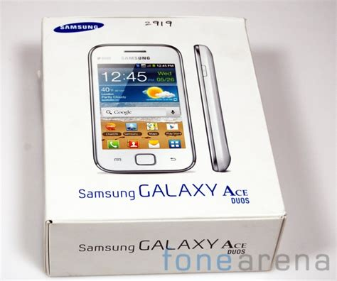 Samsung Galaxy Ace Duos samsung galaxy ace duos unboxing