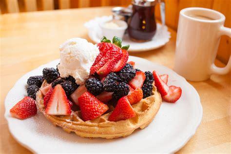 fruit waffles fresh fruit waffle the original pancake house seattle