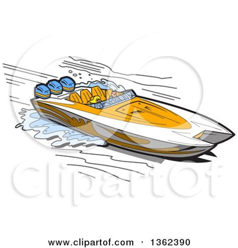 speed boat tattoo royalty free rf clipart of boats illustrations vector
