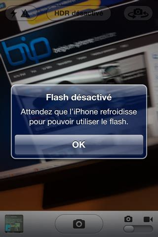 L Iphone Est Désactivé Ios 4 3 1 Un Bug Li 233 Au Flash De L Iphone 4 Belgium Iphone