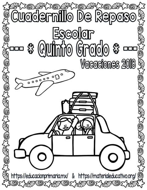 Cuadernillo De Repaso Escolar Para Vacaciones Del Quinto | cuadernillo de repaso escolar para vacaciones del quinto