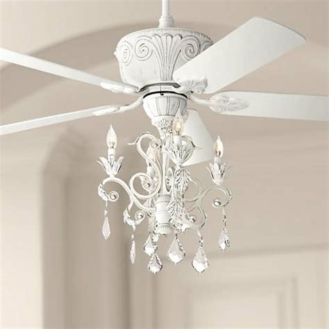 small chandelier ceiling fan casa rubbed white chandelier ceiling fan 87534