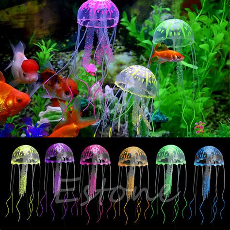aquarium decorations popular artificial jellyfish aquarium buy cheap artificial