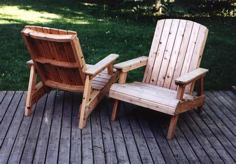 diy wooden deck chairs woodworking projects