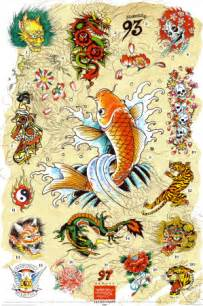 japanese designs ed hardy japanese tattoo designs tattoobite com