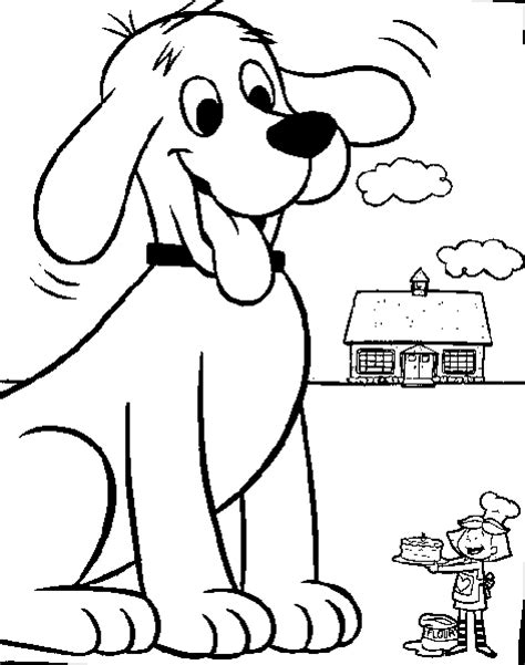 clifford autumn coloring pages clifford coloring page clifford all kids network