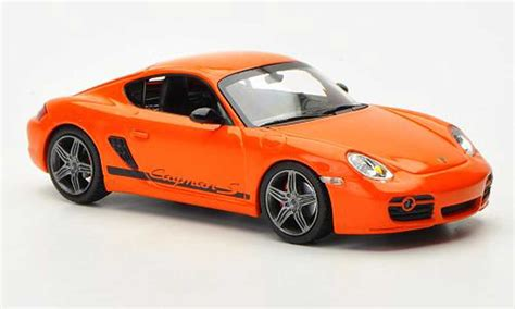 porsche cayman orange porsche cayman miniature s sport 987 orange 2008