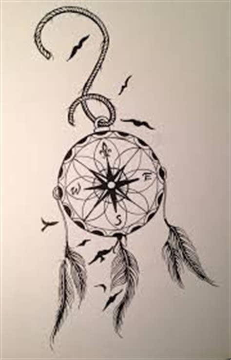 dreamcatcher compass tattoo neck day one hundred compass tattoo the o jays and dream