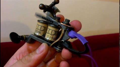 aaron cain tattoo machine youtube