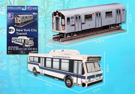 mta nyc subway car and 3d puzzle puzzlewarehouse