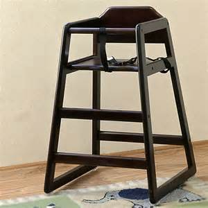 restaurant style high chair la baby restaurant style wooden high chair cherry at