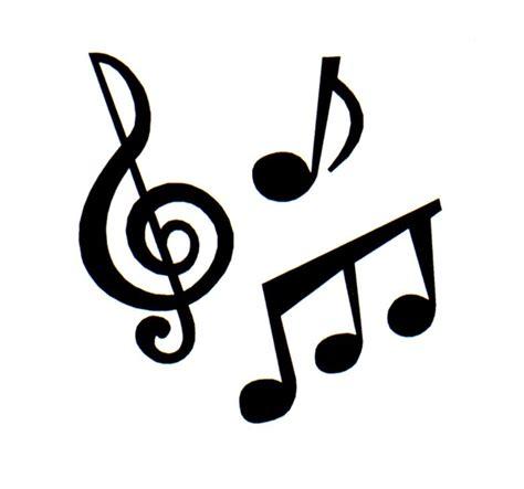 imagenes en blanco y negro de notas musicales music notes