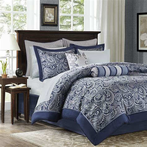 madison park aubrey jacquard comforter set madison park aubrey 12 piece complete bed set ebay