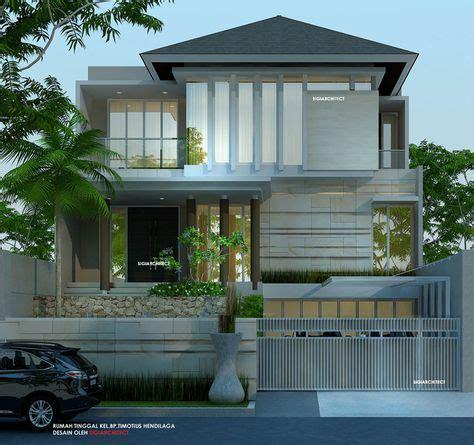 desain rumah  lantai minimalis tropis rumah   house design simple house design