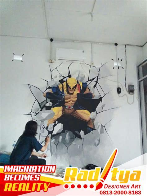 lukisan mural dinding simple   cantik