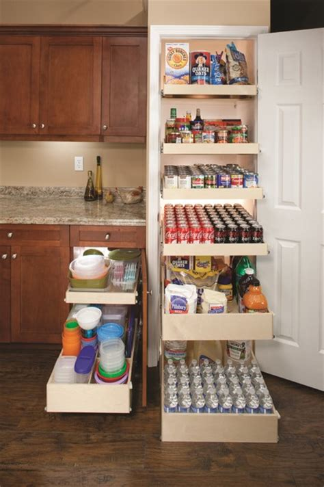 Pull out pantry shelves contemporary other metro by shelfgenie